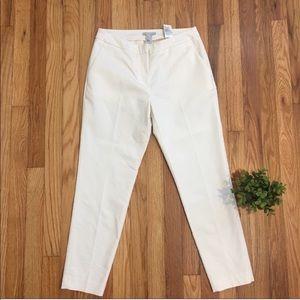 H&M Off White/Ivory Ankle Pants Size 6